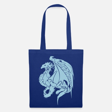 Tribal dragon vect v2 by customstyle - Tote Bag