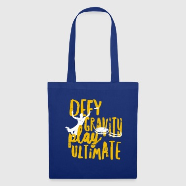 Ultimate Frisbee - Defy Gravity - Tote Bag