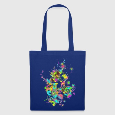 Swallow color splashes - Tote Bag