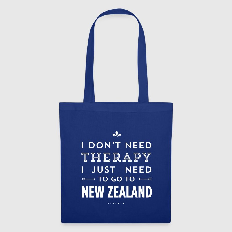 I just need to go to New Zealand - Stoffbeutel