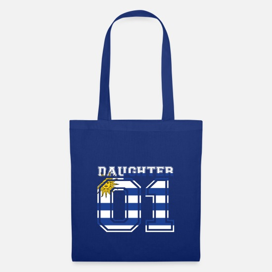 Love Bags & Backpacks - Daughter daughter queen 01 Uruguay - Tote Bag royal blue