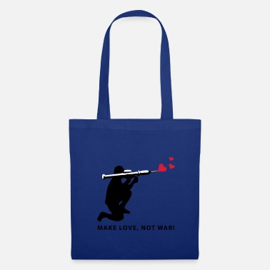 Make Love Not War love_panzerfaust_b_3c - Borsa di stoffa