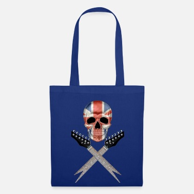Skull Britain Rocks 001 - Tote Bag