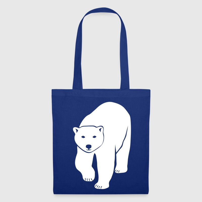 polar bear ice black white penguin knut climate change stop global warming - Tote Bag