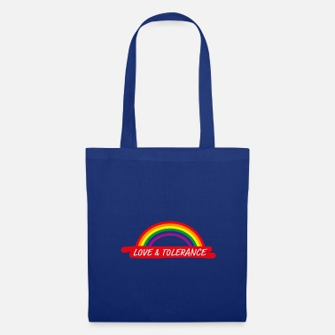 Same-sex Love & Tolerance Tolerance Homo Rainbow Gift - Tote Bag