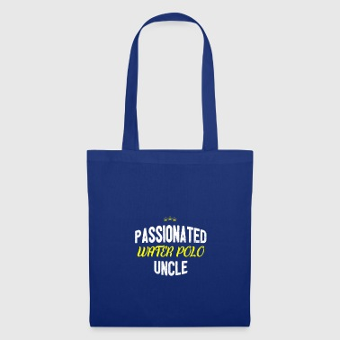 Distressed - PASSIONATED WATERPOLO UNCLE - Tote Bag