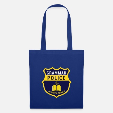 Officialbrands Grammer Police Gift for Nerds, Gift Nerds - Tote Bag
