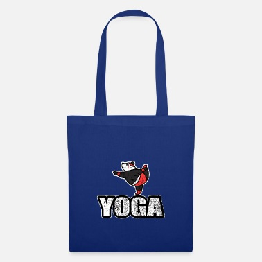 New Age Dancing Yoga Bear Vintage Retro New Age - Tas van stof