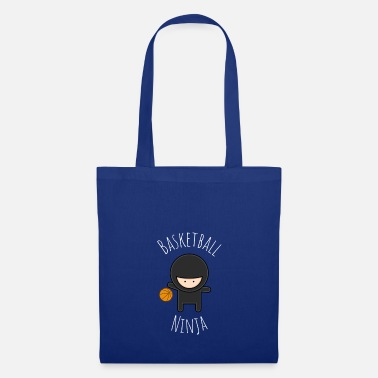 Basketball Basketball Ninja - Funny Ninja & Basketball Design - Tote Bag