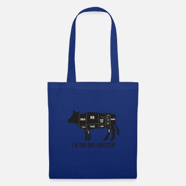 Butcher Grillmeister - Funny BBQ Quote - Gift - Tote Bag