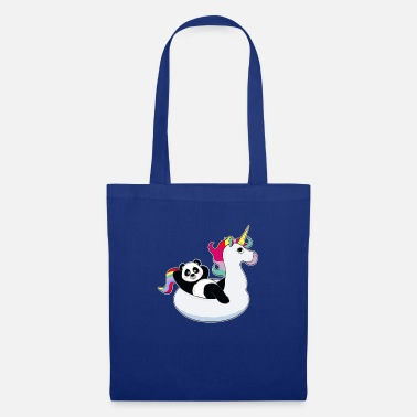 Unicorno Panda su unicorn air mat kawaii estate fresca - Borsa di stoffa
