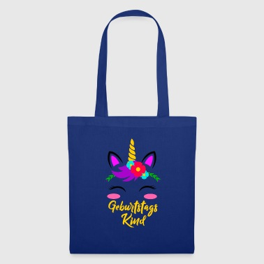 Birthday Girl Unicorn Birthday Gift - Bolsa de tela