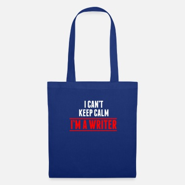 Writing Auteur Writer Book Writing Texte cadeau - Tote Bag