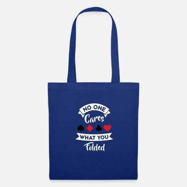 Cards Joueur de Poker Poker Cards Card Game Gift - Tote Bag
