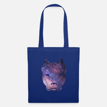 Pit Bull Terrier galaxy gift - Tote Bag