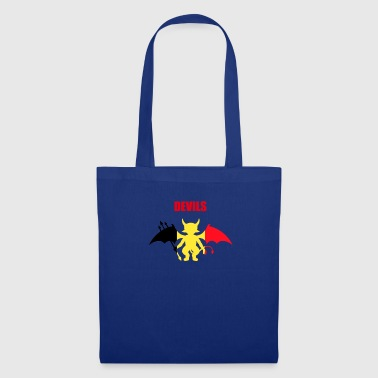 Devil Belgium football stadium team - Tote Bag