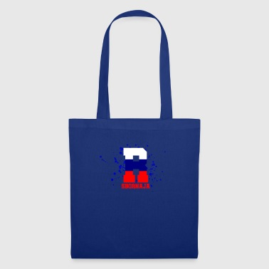 Russia flag football stadium team - Tote Bag