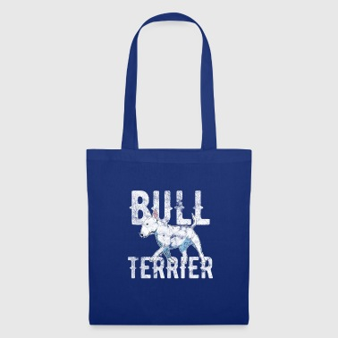 Bull Terrier JOURNÉE INTERNATIONALE DU CHIEN - BULL TERRIER - Tote Bag