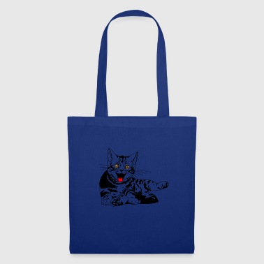 Cute looking cat perfect gift idea - Tote Bag