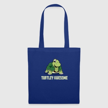 Turtley Awesome tortue cadeau - Tote Bag