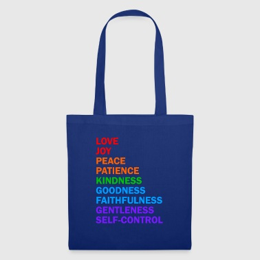 Fruits of the Spirit - Christian Shirt - Tote Bag