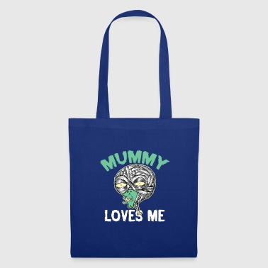 Halloween Mummy Loves Me - Tote Bag