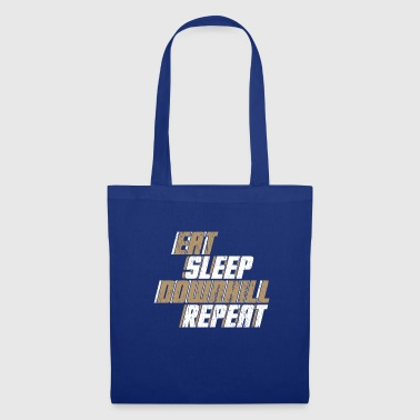 Bicicleta de regalo Eat Sleep Downhill Repeat - Bolsa de tela