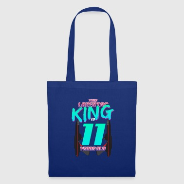 Lasertag - This King Is 11 Years Old - Tote Bag