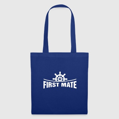 First Mate (Daughter) - Funny Family Matching Gift - Torba materiałowa