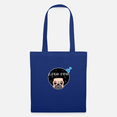 Afro Afro Pug - Tote Bag