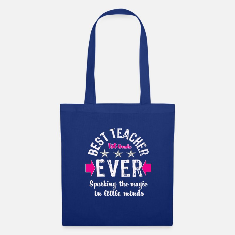 54b24e4954bb Tote Bags   Backpacks - Fantastic First Grade Teaching Gift Best Teacher  Ever - Tote Bag
