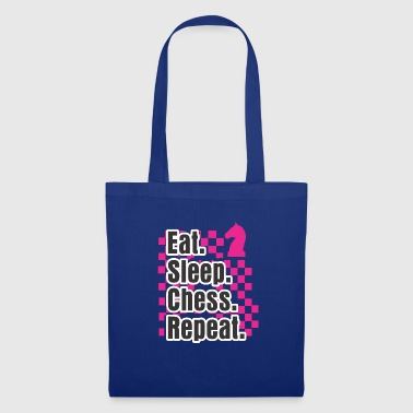 Gear Funny Chess Design Eat Sleep Play Chess Repeat Gift - Tote Bag