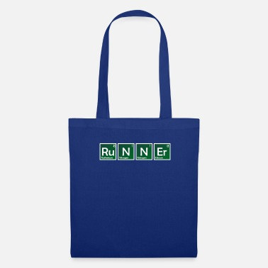Periodic Table Elements of Runner Element Chemistry Periodic Table - Tote Bag