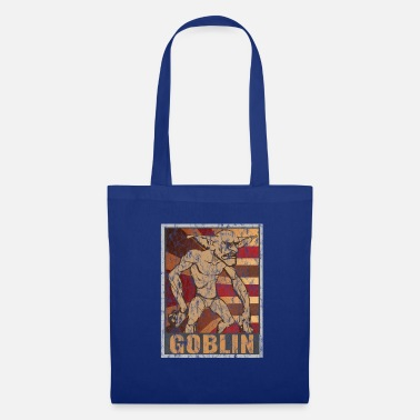 Legend Retro Goblin Poster Distressed Look - Tote Bag