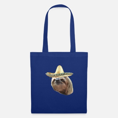 Paresseux Sloths Black Glasses sombrero paresseux - Tote Bag