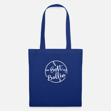 Reloj SoftBallin Soft Ball Fan Designs - Bolsa de tela