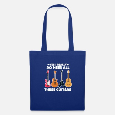 Maniaque Chemise XASTY All Guitar Rock Music Instrument - Tote Bag