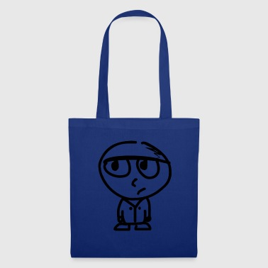 stressed man - Tote Bag