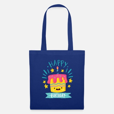 Happy Birthday Happy Birthday - Bolsa de tela