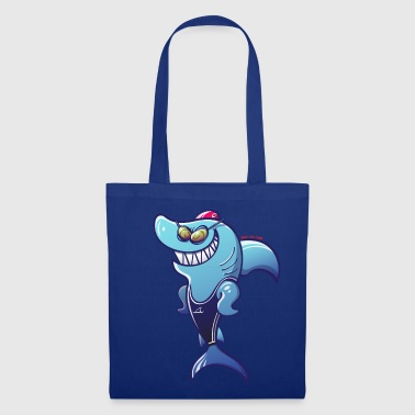 Swimmer Shark - Tote Bag