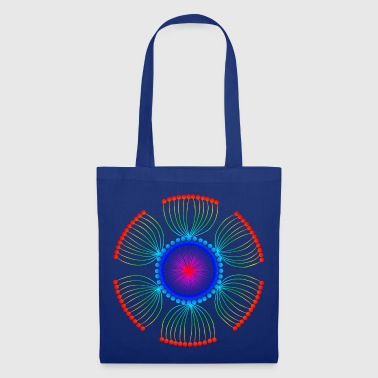Rainbow Poppy Seeds Mandala - Tote Bag