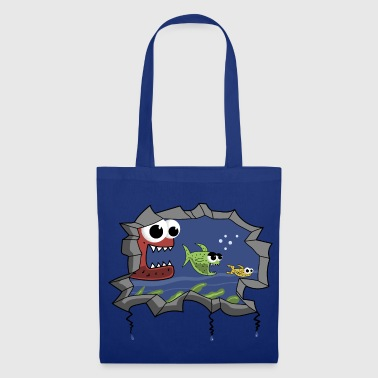poisson poisson POISSON !!! - Tote Bag