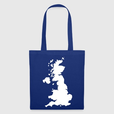 Karte UK, UK Map - Tote Bag