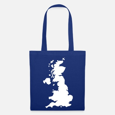 Uk Karte UK, UK Map - Tote Bag