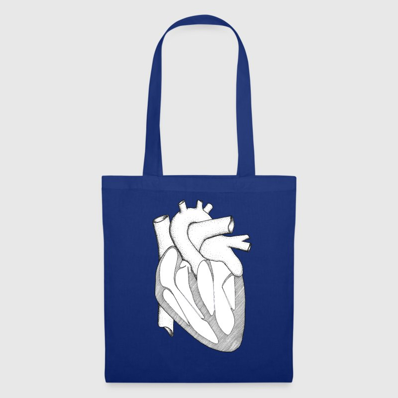 Anatomically Correct Heart - Stoffbeutel