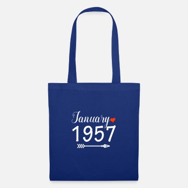 1957 January 1957 - Tote Bag