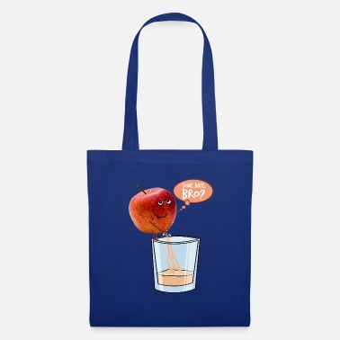 Drinkglas Apple tokkelt in glas - Tas van stof