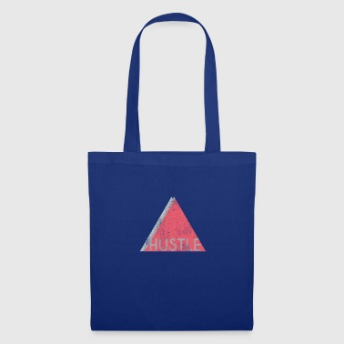 Hustle triangle | Hustlen | Work hard - Tote Bag