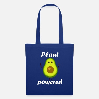 Plant Powered - Avocado Vegan Vegan Vegan - Tas van stof