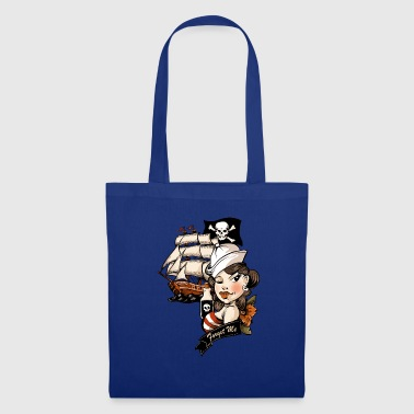 Tatouage d'amour de pirate - Tote Bag